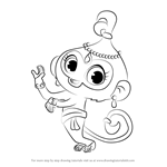 How to Draw Tala from Shimmer and Shine