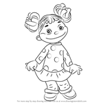 How to Draw Gabriela from Sid the Science Kid