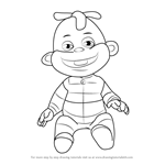 How to Draw Zeke from Sid the Science Kid