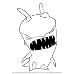 How to Draw Hop Jack from Slugterra