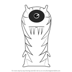 How to Draw The Goon from Slugterra