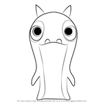 How to Draw Tormato from Slugterra