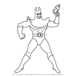 How to Draw Man Ray from SpongeBob SquarePants