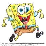 How to Draw SpongeBob from SpongeBob SquarePants