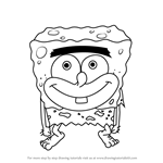 How to Draw SpongeGar from SpongeBob SquarePants