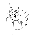 How to Draw Pony Head from Star vs. the Forces of Evil