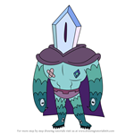 How to Draw Rhombulus from Star vs the Forces of Evil