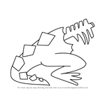 How to Draw Crystal Basilisk from Steven Universe