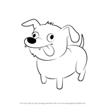 How to Draw Dog from Steven Universe
