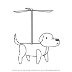 How to Draw Dogcopter from Steven Universe