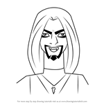 How to Draw Vlad from Stoked