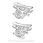 How to Draw Albert from Super Wings