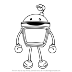 How to Draw Bot from Team Umizoomi