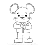 How to Draw DoorMouse from Team Umizoomi