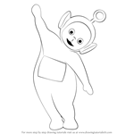 How to Draw Po from Teletubbies