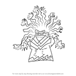 How to Draw Tara Ribble from The Adventures of Captain Underpants