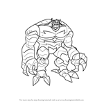 How to Draw Abomination from The Avengers - Earth's Mightiest Heroes!