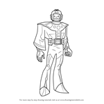 How to Draw Kang the Conqueror from The Avengers - Earth's Mightiest Heroes!