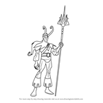 How to Draw Loki from The Avengers - Earth's Mightiest Heroes!