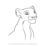 How to Draw Nala from The Lion Guard