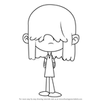 How to Draw Lucy Loud from The Loud House