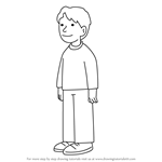 How to Draw Chip Robinson from The Magic Key