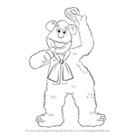 How to Draw Fozzie Bear from The Muppet Show