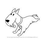 How to Draw Scottie from The Oblongs