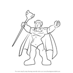 How to Draw Adam Warlock from The Super Hero Squad Show
