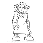 How to Draw Grandmaster from The Super Hero Squad Show