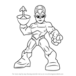 How to Draw Klaw from The Super Hero Squad Show