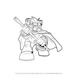 How to Draw Mole Man from The Super Hero Squad Show