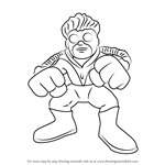 How to Draw Pyro from The Super Hero Squad Show