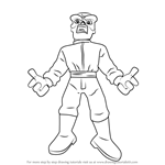 How to Draw Red Skull from The Super Hero Squad Show