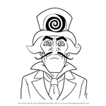 How to Draw Ringmaster from The Super Hero Squad Show