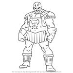 How to Draw Skurge the Executioner from The Super Hero Squad Show