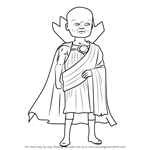 How to Draw Uatu the Watcher from The Super Hero Squad Show