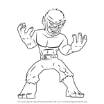 How to Draw Werewolf by Night from The Super Hero Squad Show