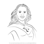 How to Draw Barb Thunderman from The Thundermans