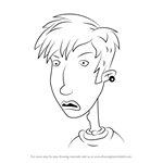 How to Draw Shane G. from The Wild Thornberrys