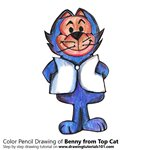How to Draw Benny from Top Cat
