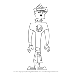 How to Draw Duncan from Total Drama Island