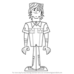 How to Draw Chris from Total Drama