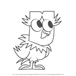 How to Draw Cody Jr. from Total Drama