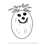 How to Draw Mr. Coconut from Total Drama