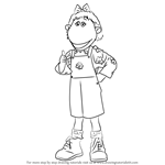 How to Draw Bella from Tweenies