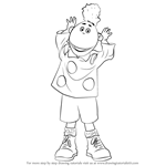 How to Draw Jake from Tweenies