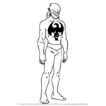 How to Draw Iron Fist from Ultimate Spider-Man