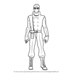 How to Draw Spider-Man Noir from Ultimate Spider-Man