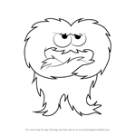 How to Draw Beardman from Uncle Grandpa